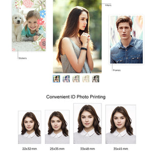 Mini imprimante photo / Huawei Printer Photo Paper for Huawei Pocket Printer Mini Portable DIY Photo Printers - kadopascher.com