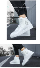Chaussures PP Mode luxe Brillantes / Chaussures Hommes luxe chic PP / Sneakers High top British Design - kadopascher.com