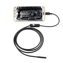 2M 1M 5.5mm 7mm Caméra Endoscope Flexible IP67 Caméra d'inspection étanche Endoscope pour Android PC Notebook 6LEDs Réglable - kadopascher.com