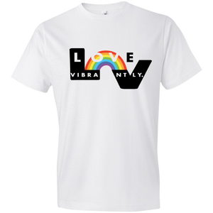 Love Vibrantly Fitted T-Shirt