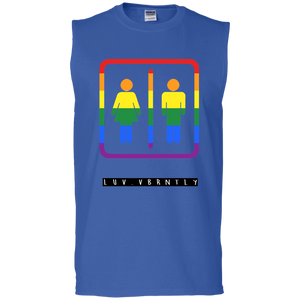 Love Both Sides Sleeveless T-Shirt
