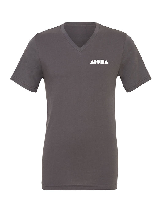 Aloha Shapes Unisex V-neck T-shirt