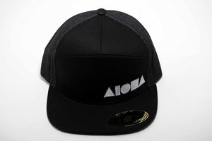 """Seven"" Adult Flat Brim 7-Panel Snapback Hat"