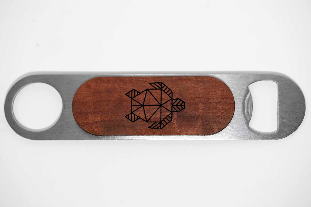 Moku Wood Handle Bottle Openers