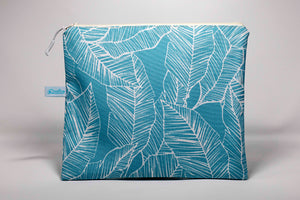 Oneloa Turquoise Banana Leaf Wet/Dry Bag