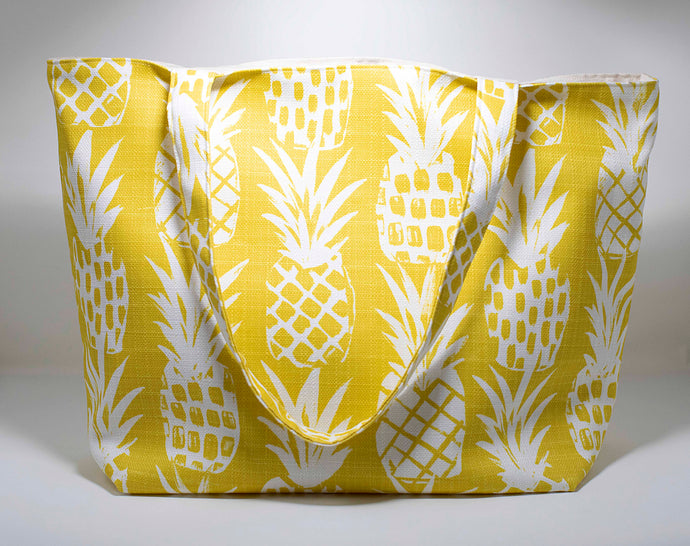 Oneloa Pineapple Canvas Totebag
