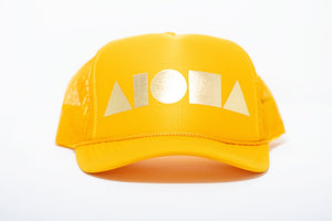 """Yellow/Gold"" Adult Trucker Hat"