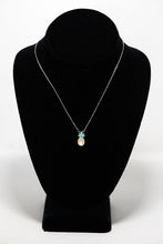 "Aloha Bling ""Green Opal & Mother-of-Pearl Pineapple"" Necklace"