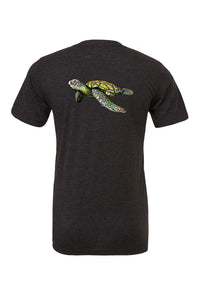 Unisex T-shirt with Aloha Turtle design