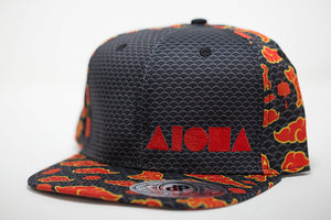 """Chinese New Year"" Adult Flat Brim Snapback Hat"