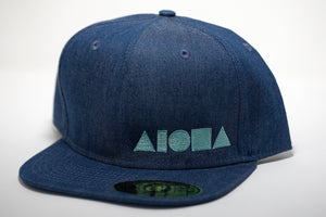 """You're My Boy Blue"" Adult Flat Brim Snapback Hat"