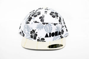 """Seven Pools"" Adult Flat Brim 7-Panel Snapback Hat"