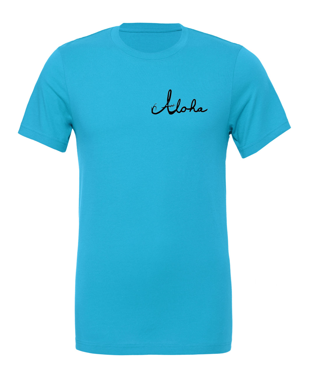 Giving Tree Aqua Unisex T-shirt