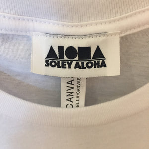 Closeup picture of custom woven inside label