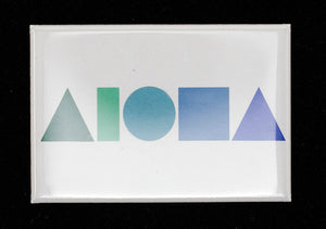 Aloha Shapes Magnets