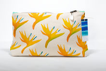 hand-painted Bird of Paradise clutch purse handmade in Maui, HAwaii