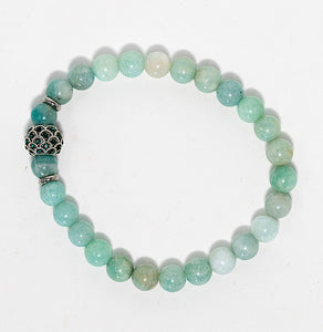 "Craft Bracelets Bro ""Amazonite Mermaid Scales"" Bracelet"