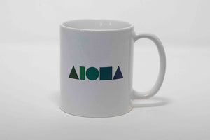 Aloha Shapes Coffee Mug