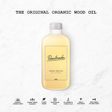 Organic Wood Oil For Cutting Boards and Woodworking - 8oz