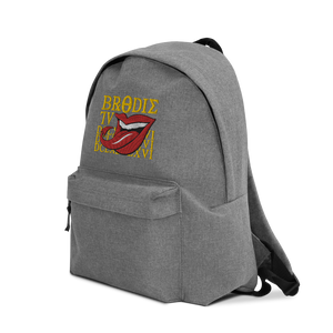 "BrodieTV ""666"" Embroidered Backpack"