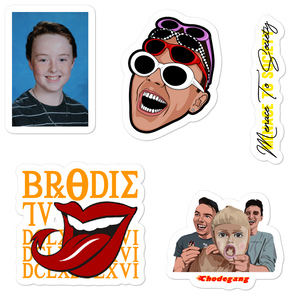 BrodieTV Sticker Sheet #2