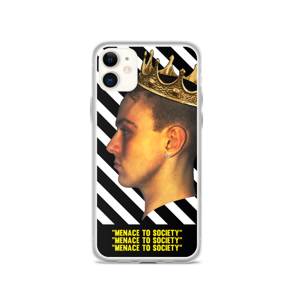 """Menace To Society"" iPhone Case"