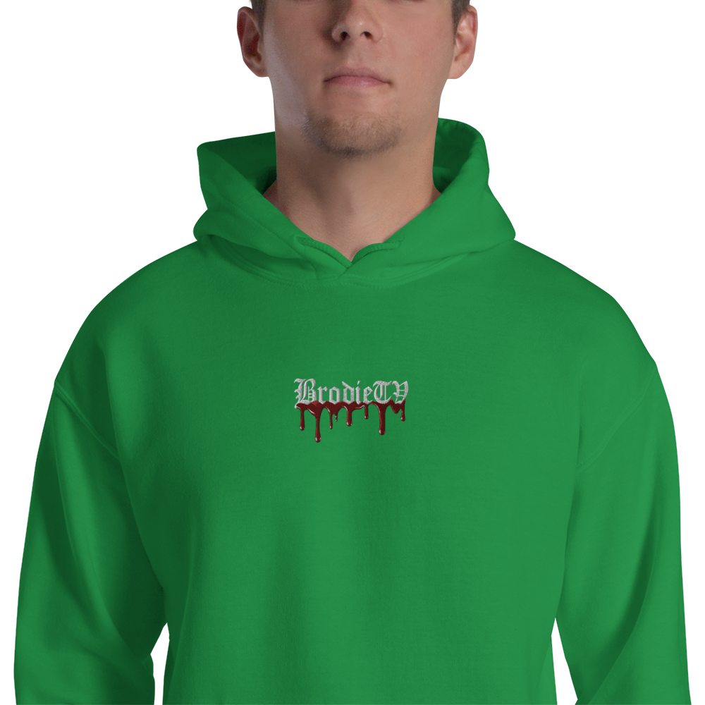 Bloodied BrodieTV Embroidered Sweater