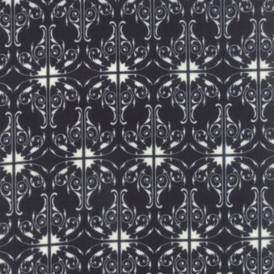 Black and White Fabric by Moda