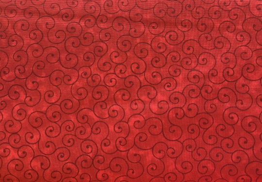 Ruby Red Fabric