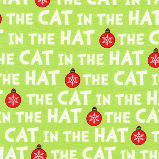 Cat in the Hat Dr. Seuss Christmas Fabric