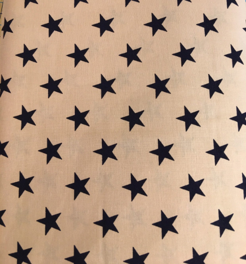 Antique Style Patriotic Fabric