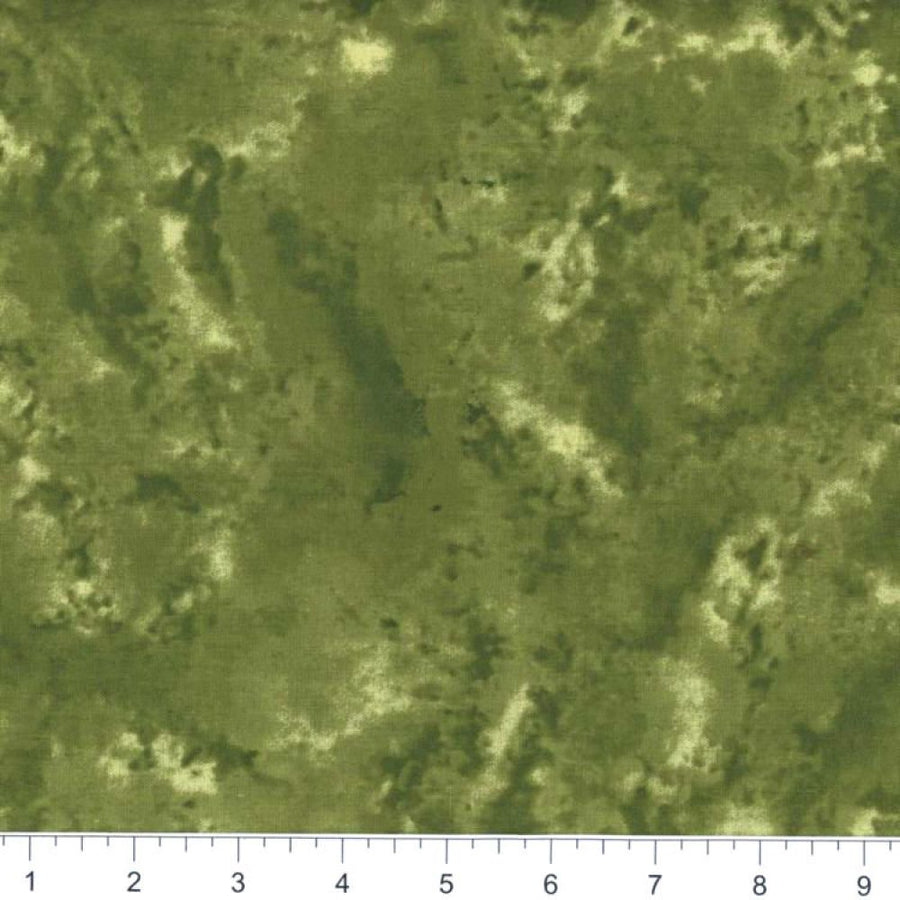 Army Green Marble Fabric