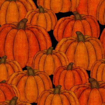 Pumpkin Fabric by 3 Wishes Fabric