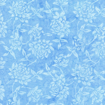 Laguna Blue Batik Fabric