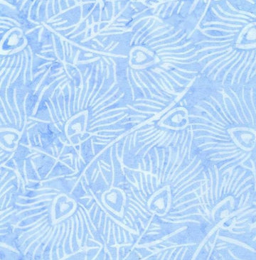 Lite Blue Batik Fabric