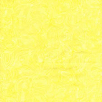 Citron Yellow Batik Fabric