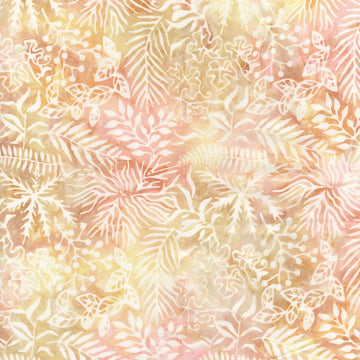 Sunrise Pink Batik Fabric