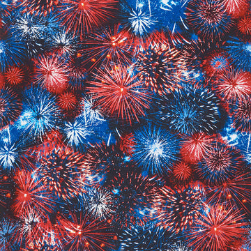 Fireworks Fabric