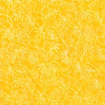 Corn Yellow Batik Fabric