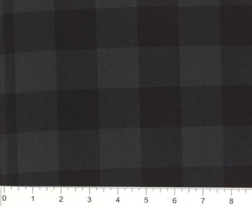 Black and Gray Plaid