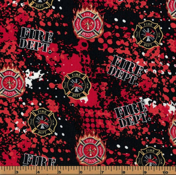 Fire Fighter Fabric