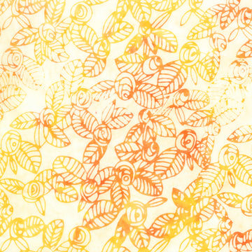 Mellow Yellow Batik Fabric