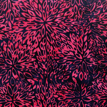 Purple Batik Fabric