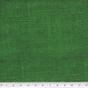 Hunter Green Burlap Look Fabric