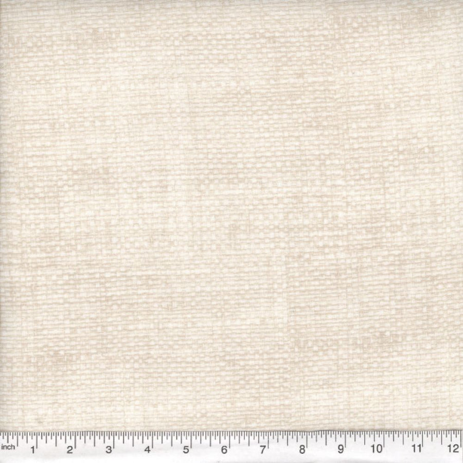 Off White Burlap Look Fabric