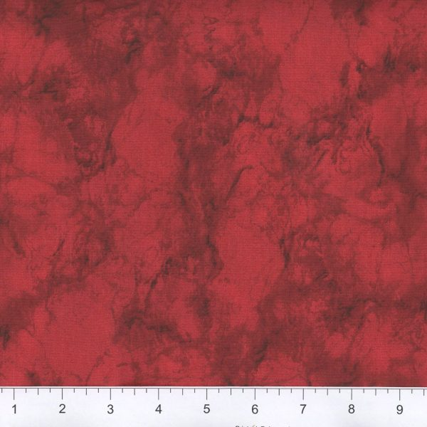 Red Marble Fabric