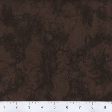 Chocolate Brown Marble Fabric