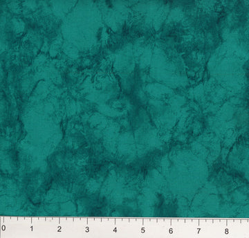 Dark Teal Marble Fabric
