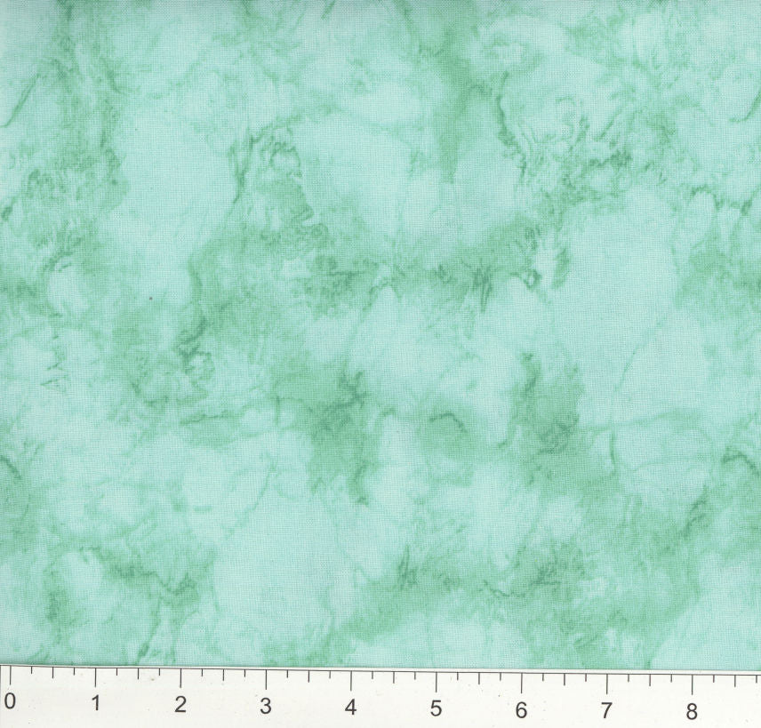 Mint Green Marble Fabric