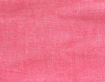 Pink Burlap Look Fabric